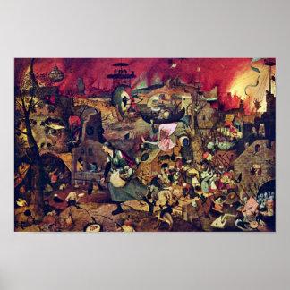 De Dulle Griet (The Terrific Grete) By Bruegel D. Poster