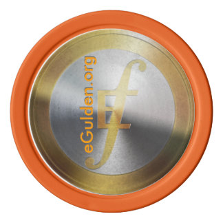De eGulden Set Of Poker Chips