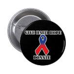 Dé el botón de la esperanza de Haití Pin