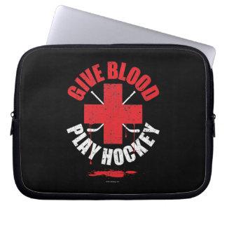 Dé el hockey v1 del juego de la sangre manga computadora