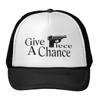 Dé el pedazo gorra