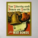 Dé el poster del vintage WW2 del ~ de los enlaces