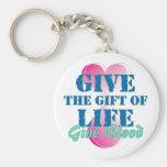 Dé el regalo de la vida llavero personalizado