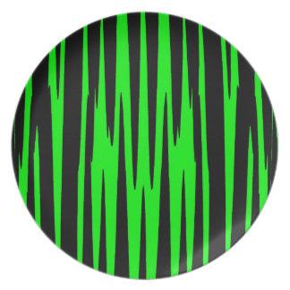 ~ de EMERALD ISLE (un diseño del arte abstracto) Plato De Cena