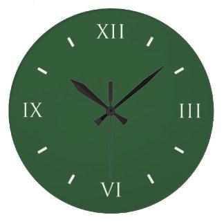 De entonado de colores moderno del verde caqui relojes