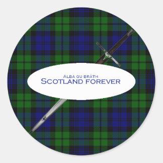 De Escocia bràth Alba para siempre gu Etiqueta