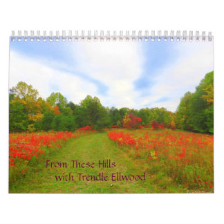 De estas colinas Calandar Calendario
