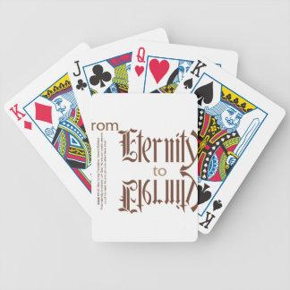 de eternidad a la eternidad baraja cartas de poker