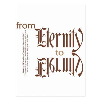 de eternidad a la eternidad tarjeta postal