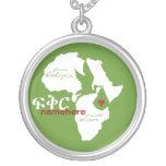 De Etiopía con la adopción del amor Pendiente Personalizado