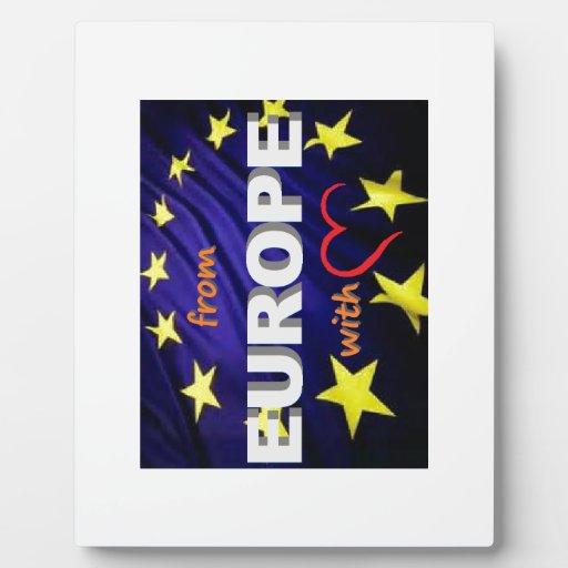 de Europa con amor Placas Con Fotos
