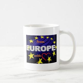 de Europa con amor Taza