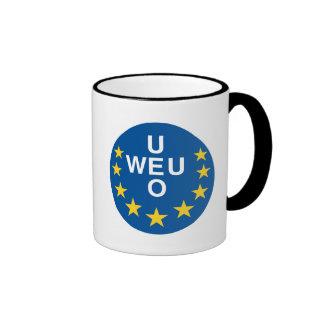 De Europa occidental Taza De Dos Colores