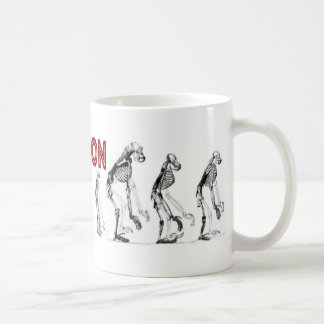DE-EVOLUTION COFFEE MUG