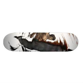 De Fei alto retroceso de largo Skateboard