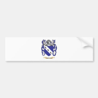 De Felice Coat of Arms Bumper Sticker