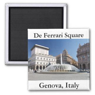 De Ferrari Square, Genoa, Italy Magnet