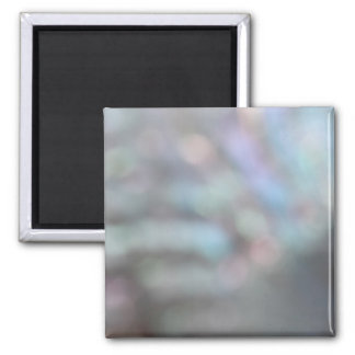 De-focussed Shell Picture. 2 Inch Square Magnet