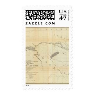 De Fort Smith al Rio Grande 2 Timbres Postales