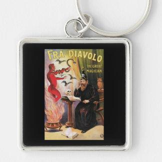 de Fra Diavolo el acto mágico del gran vintage d Llavero Personalizado