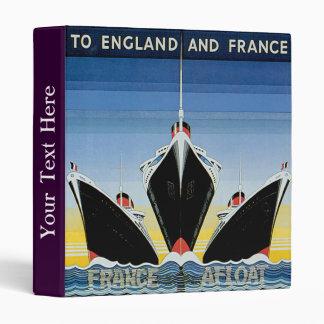 "De Francia línea francesa poster a flote - Carpeta 1"""