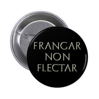 De Frangar botón no Flectar Pin