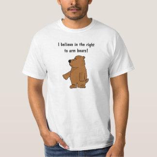 DE- Funny Arm Bears Shirt