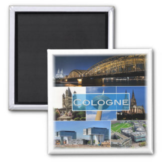 DE * Germany - Cologne Köln Magnet