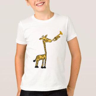 DE- Giraffe Playing the Trumpet Shirt