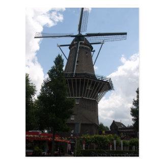 De Gooyer Windmill Amsterdam Postcard