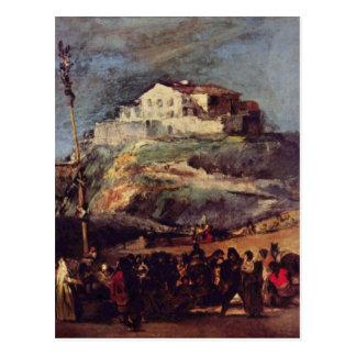 De Goya Artwork Postcard