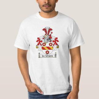 de Grave Family Crest T Shirts