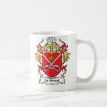 de Groot Family Crest Mug