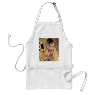 ~ de Gustavo Klimt el beso Delantal