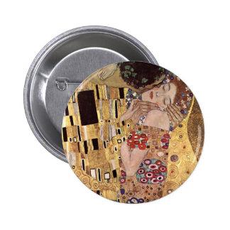 de Gustavo Klimt el beso Pin