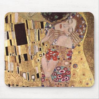 de Gustavo Klimt el beso Tapete De Raton