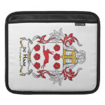 de Haas Family Crest Sleeves For iPads