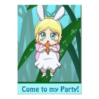 _De hadas de la invitación - una zanahoria a