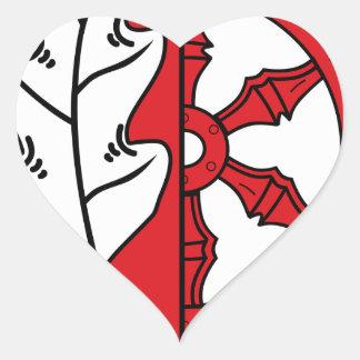 DE Hagen aTW COA Heart Sticker