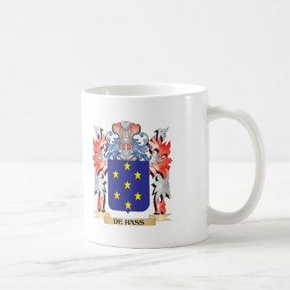 De-Hass Coat of Arms - Family Crest Coffee Mug