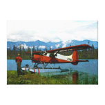 De Havilland Beaver Floatplane Canvas Print