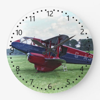 De Havilland Dragon Rapide Large Clock