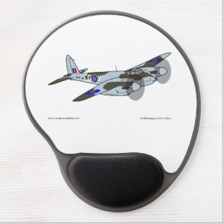 de Havilland Mosquito (1941) Gel Mouse Pad