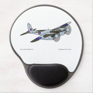 de Havilland Mosquito (1941) Gel Mouse Pad