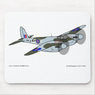 de Havilland Mosquito (1941) Mouse Pad