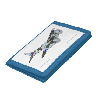 de Havilland Mosquito (1941) Trifold Wallets