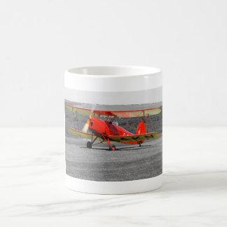 De Havilland Red Tigermoth Bi-Plane Mug