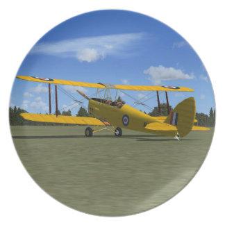 De Havilland Tiger Moth Plate