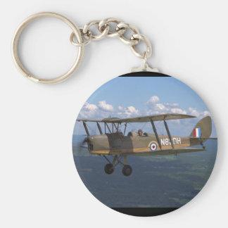 De Havilland, Tigermoth, 1940_Classic Aviation Keychain