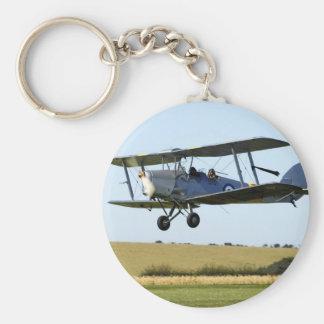 De Havilland Tigermoth Bi-Plane Keychain